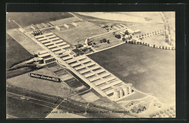 AK Plainsboro, NJ, Airplaine View of Walker-Gordon Plant