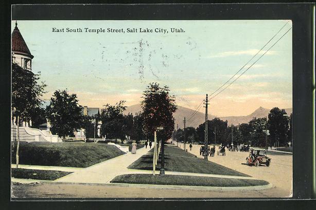 AK Salt Lake City, UT, East South Temple Street