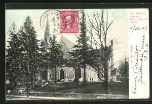 AK Southbridge, MA, St. Marys Church, Kirche