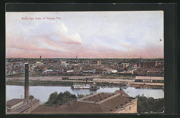 AK Tampa, FL, Birds Eye View