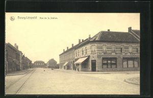AK Bourg-Léopold, Grand Hotel du Camp, Rue de la Station
