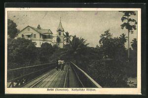 AK Kribi, Blick zur Katholischen Mission