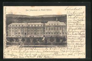 AK Grand-Halleux, Blick auf das Johanninum