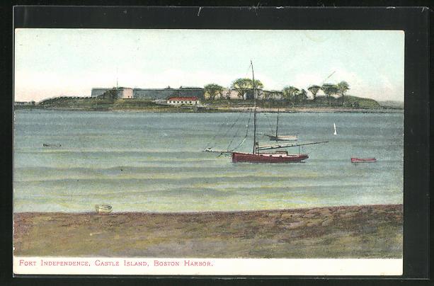 AK Boston, MA, Fort Independence, Castle Island, Boston Harbor