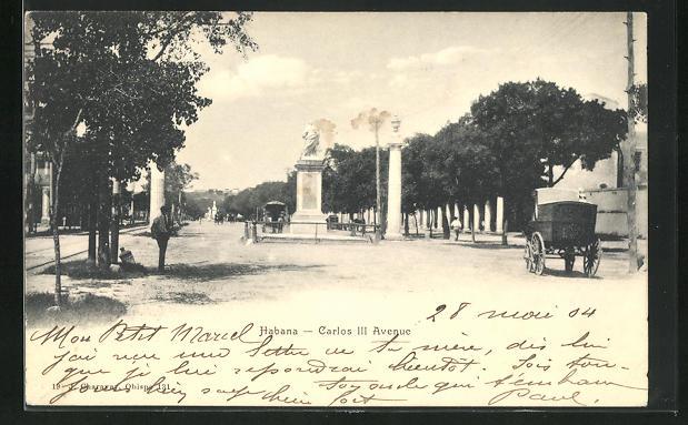 AK Habana, Carlos III Avenue, Strassenpartie