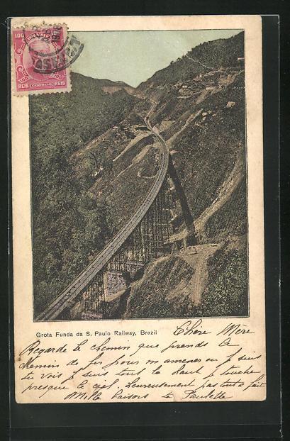 AK S. Paulo, Grota Funda da S. Paulo Railway
