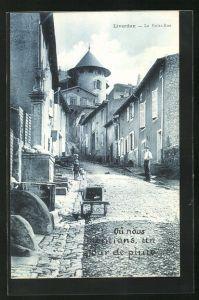 AK Liverdun, La Petite-Rue, Strassenpartie