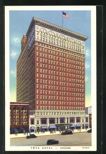 AK Chicago, IL, YMCA Hotel, 826 South Wabash