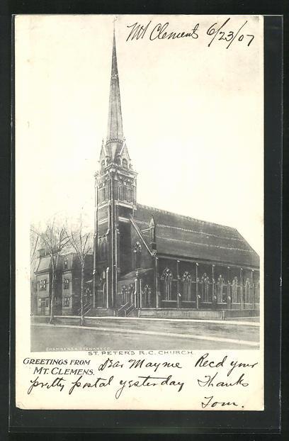 AK Mt. Clemens, MI, St. Peter`s R.C. Church
