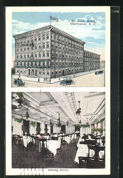 AK Charleston, SC, St. John Hotel, Dining Room