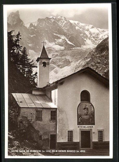 AK Courmayeur, Notre-Dame de Guérison ed il Monte Bianco