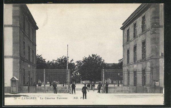 AK Langres, La Caserne Turenne