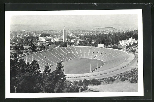 AK Oakland, CA, University of California, California Memorial Stadium
