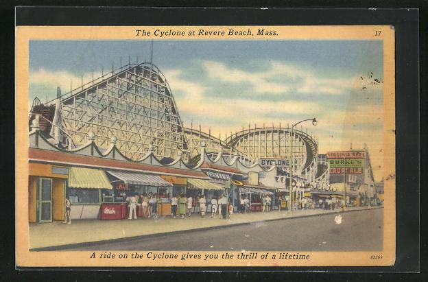 AK Revere Beach, MA, The Cyclone, Volksfest