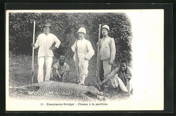 AK Casamance-Senegal, Chasse a la panthere 0