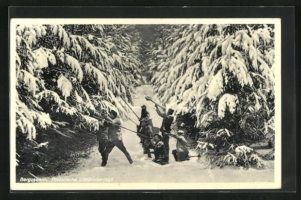 AK Bergzabern, Historische Böhämmerjagd