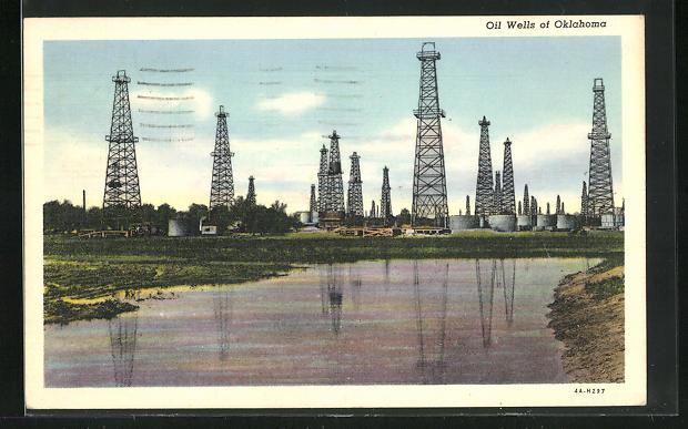 AK Oklahoma, Oil Wells