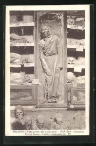 AK Palermo, Catacombe dei Cappuccini, 1533-1880, Dettaglio