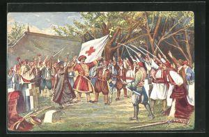 AK Takovo-Aufstand unter Fürst Milosch 1815