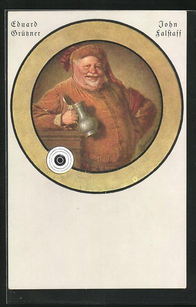 AK Eduard Grüssner, John Falstaff, William Shakespeare