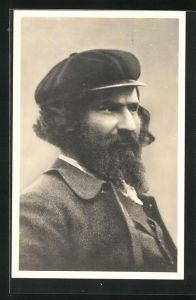 Künstler-AK Giovanni Segantini: Portrait des Malers Giovanni Segantini