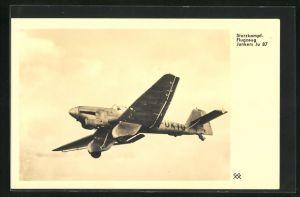 AK Sturzkampf-Flugzeug Junkers Ju 87