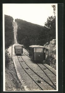 AK Funiculaire la Caudre-Chaumont, Bergbahn