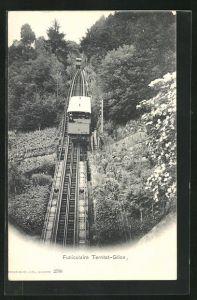 AK Funiculaire Territet-Glion, Bergbahn
