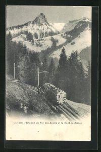 AK Chemin de Fer des Avants et la Dent de Jaman, Bergbahn