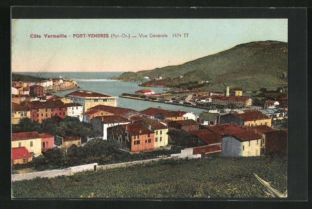 AK Port-Vendres, Vue generale