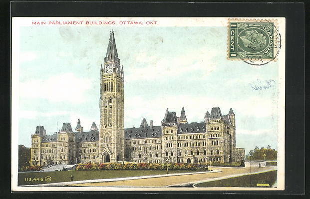 AK Ottawa, Main Parliament Buildings