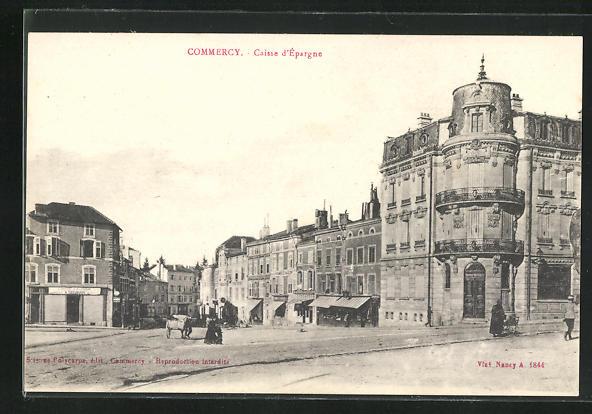 AK Commercy, Caisse d'Epargne