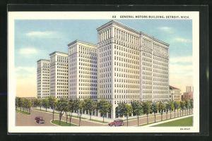 AK Detroit, MI, General Motors Building