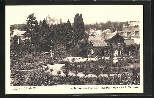 AK Le Mans, Le Jardin des Plantes