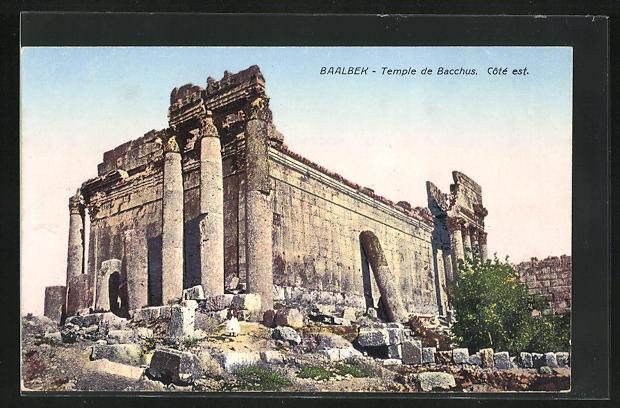 AK Baalbek, Temple de Bacchus