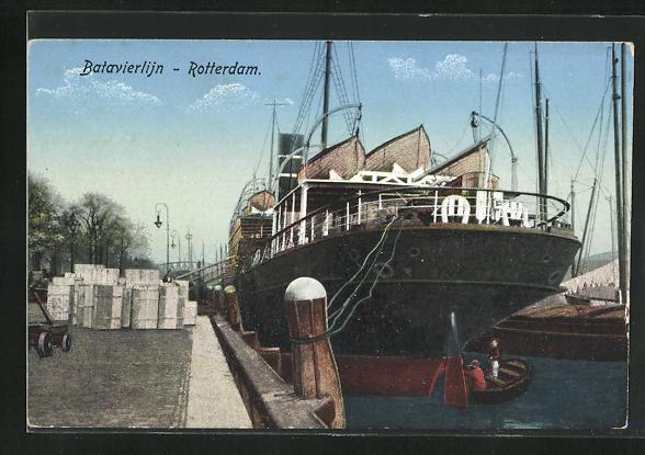 AK Rotterdam, Batavierlijn