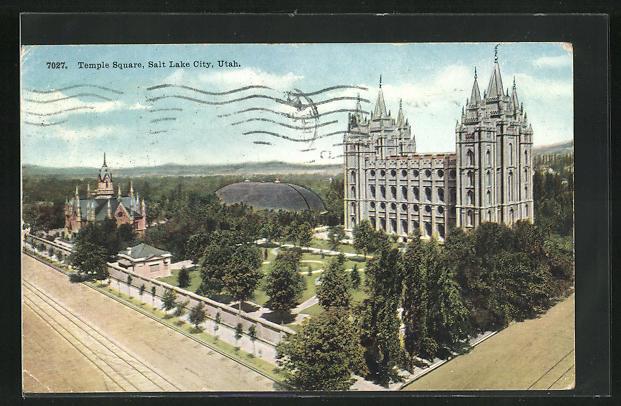 AK Salt Lake City, UT, Temple Square