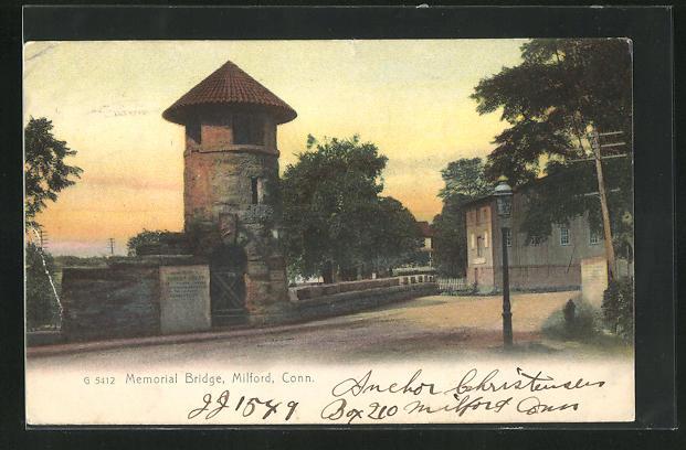 AK Milford, CT, Memorial Bridge