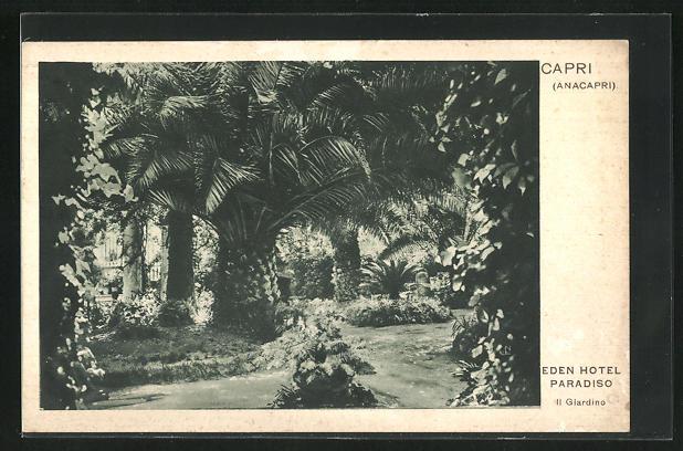 AK Capri, Eden Hotel Paradiso, Il Giardino
