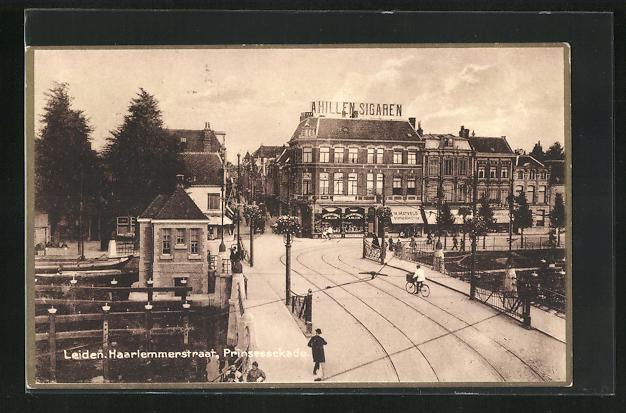 AK Leiden, Haarlemmerstraat, Prinsessekade