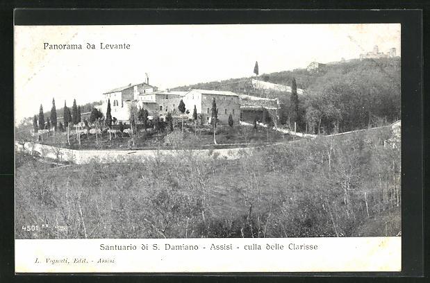 AK Assisi, Santuario di S. Damiano, culla delle Clarisse