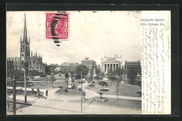 AK New Orleans, LA, Lafayette Square