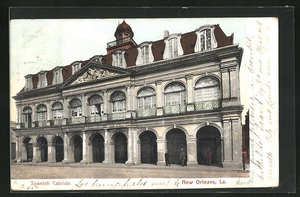 AK New Orleans, LA, Spanish Cabildo