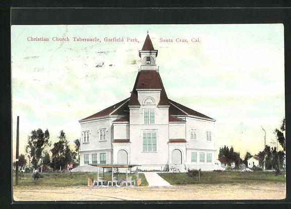 AK Santa Cruz, CA, Christian Church Tabernacle, Garfield Park