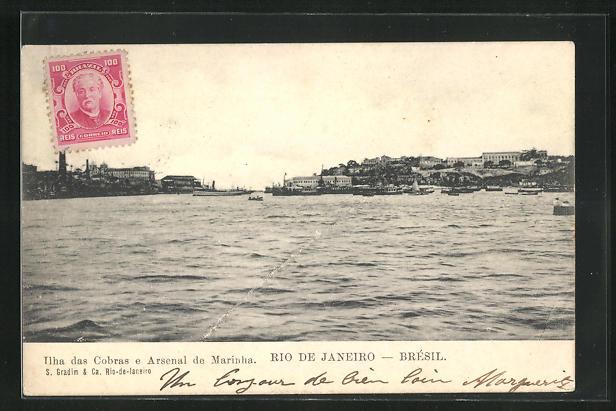 AK Rio de Janeiro, Ilha das Cobras e Arsenal de Marinha