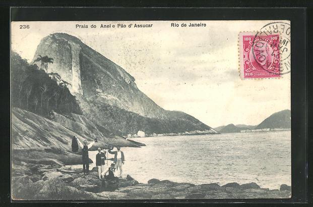 AK Rio de Janeiro, Praia do Anel e Pao d'Assucar