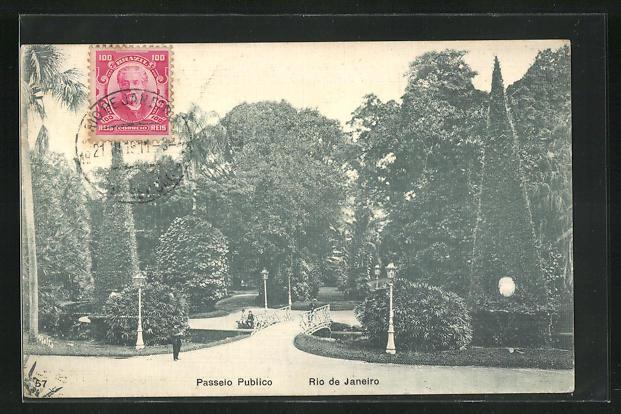 AK Rio de Janeiro, Passeio Publico