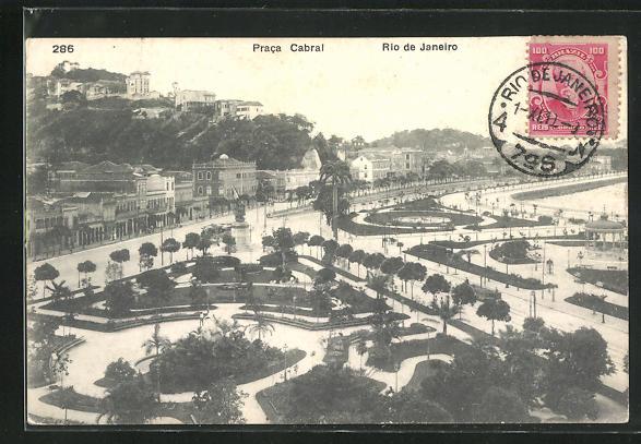AK Rio de Janeiro, Praca Cabral