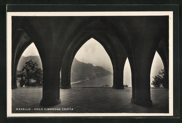 AK Ravello, Villa Cimbrone Cripta