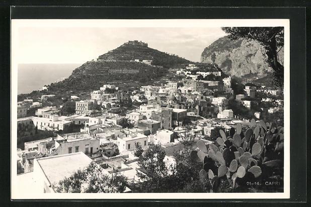 AK Capri, Totalansicht aus der Vogelschau